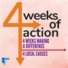 4 Weeks of Action logo